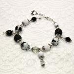 Svarte & Hvite armbånd til dalmatinere og panda fan